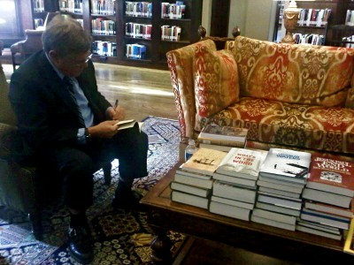 Ben Witherington III, signing 39 of his books at the LTL